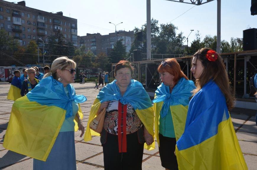 В Мариуполе вышили карту Украины (ФОТОРЕПОРТАЖ), фото-6