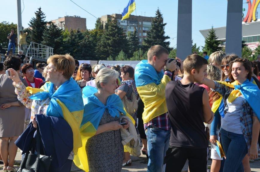 В Мариуполе вышили карту Украины (ФОТОРЕПОРТАЖ), фото-15