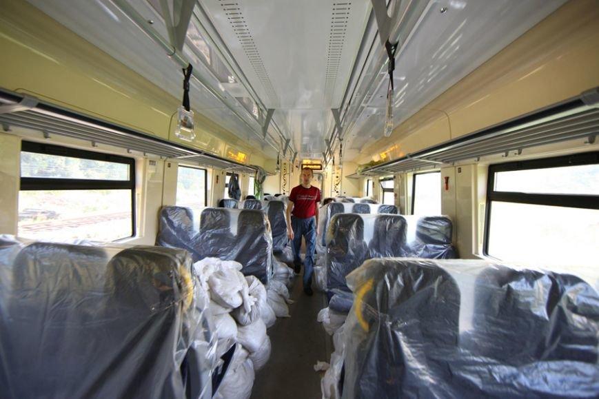 Новый Крюковский дизель-поезд испытывали с перегрузом по горной местности (ФОТО), фото-8