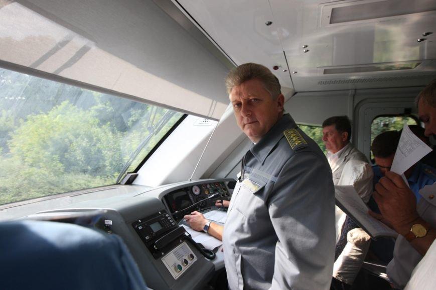 Новый Крюковский дизель-поезд испытывали с перегрузом по горной местности (ФОТО), фото-2