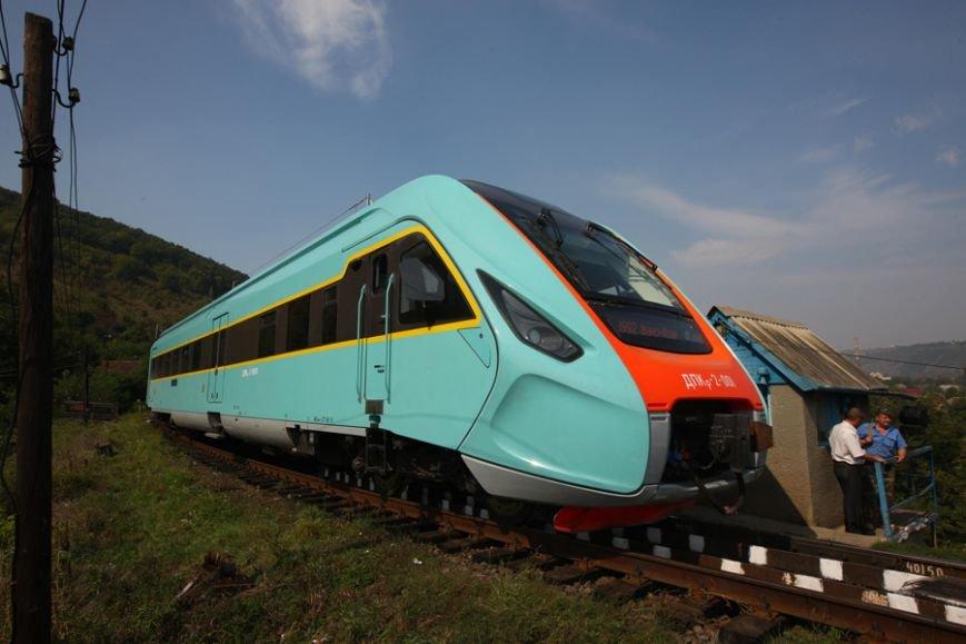 Новый Крюковский дизель-поезд испытывали с перегрузом по горной местности (ФОТО), фото-3