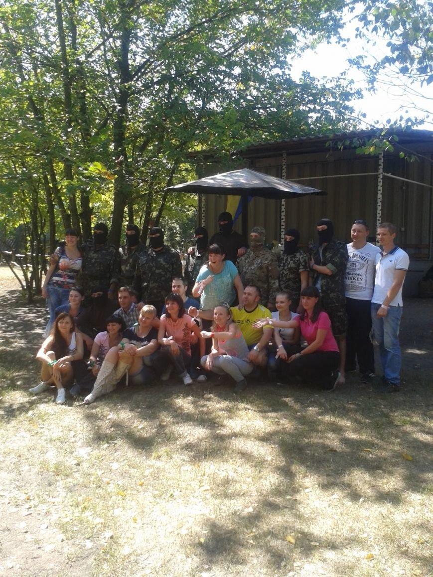 В Луганской области банкиры и бойцы сил АТО провели «Змагання Єдності», фото-3