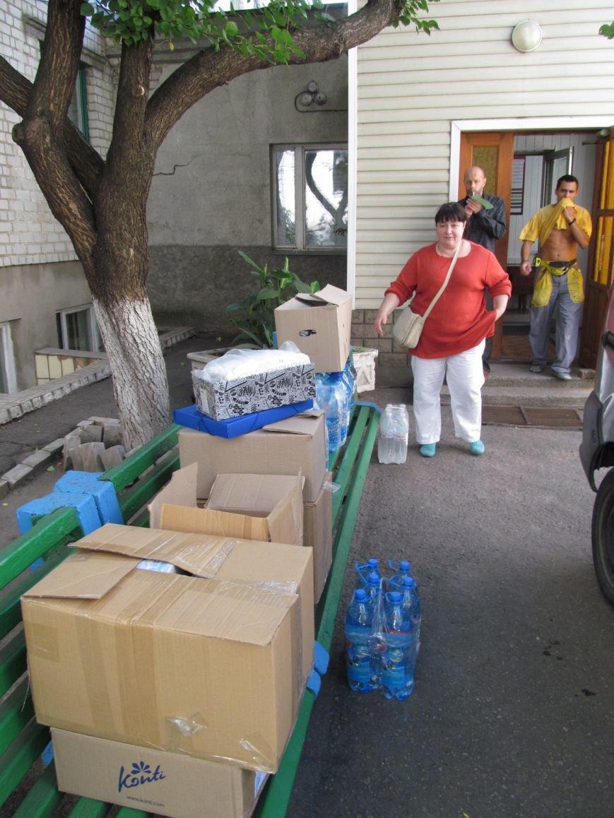 Кременчужане передали партию продуктов и медикаментов 42му батальону (ФОТО), фото-4