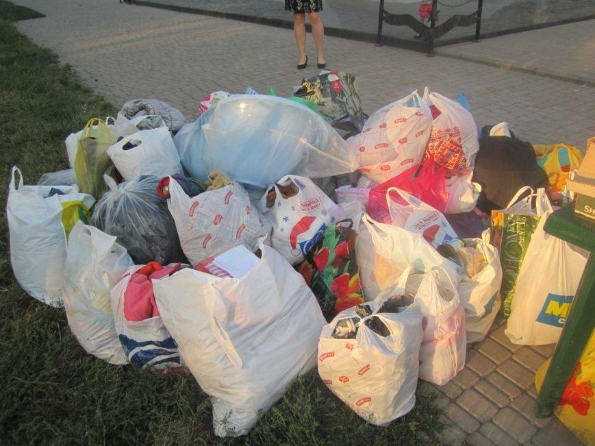 В Мариуполе беженцам помогали пенсионеры (ФОТО), фото-3