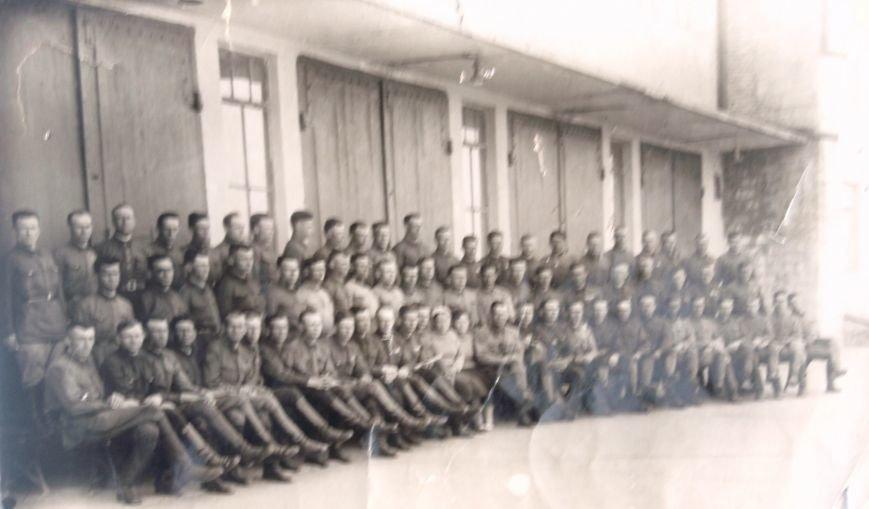 Фото пожарной части в 30-х годах