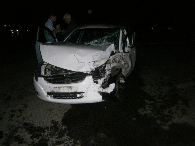 повреждение авто ТАГАЗ