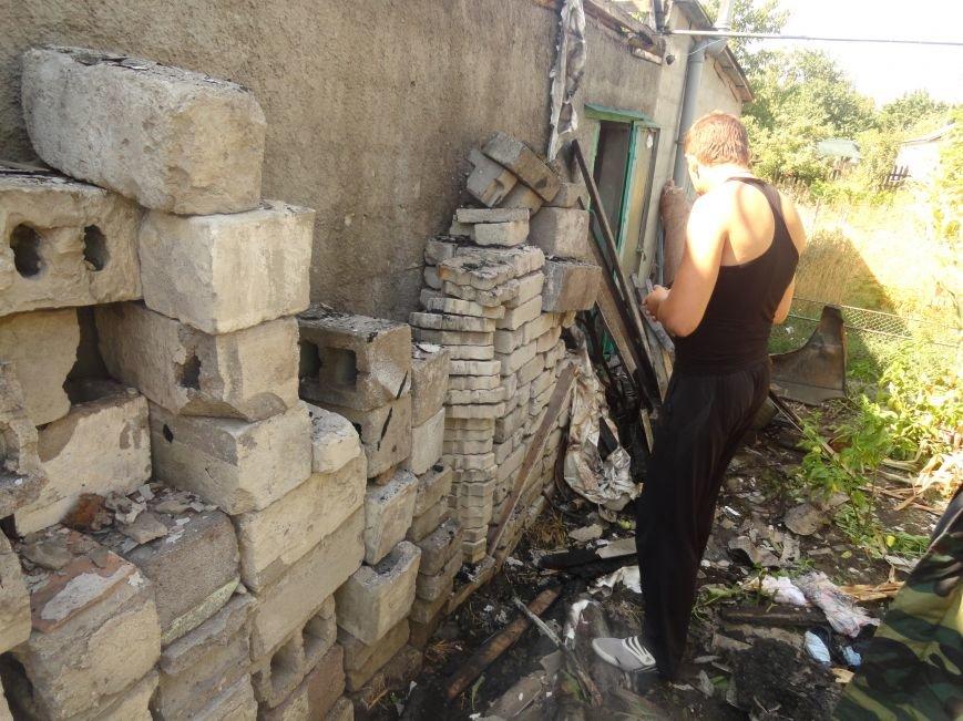Пожар в Приморском районе мариупольцы связали с ночной стрельбой (ФОТО+ВИДЕО), фото-5