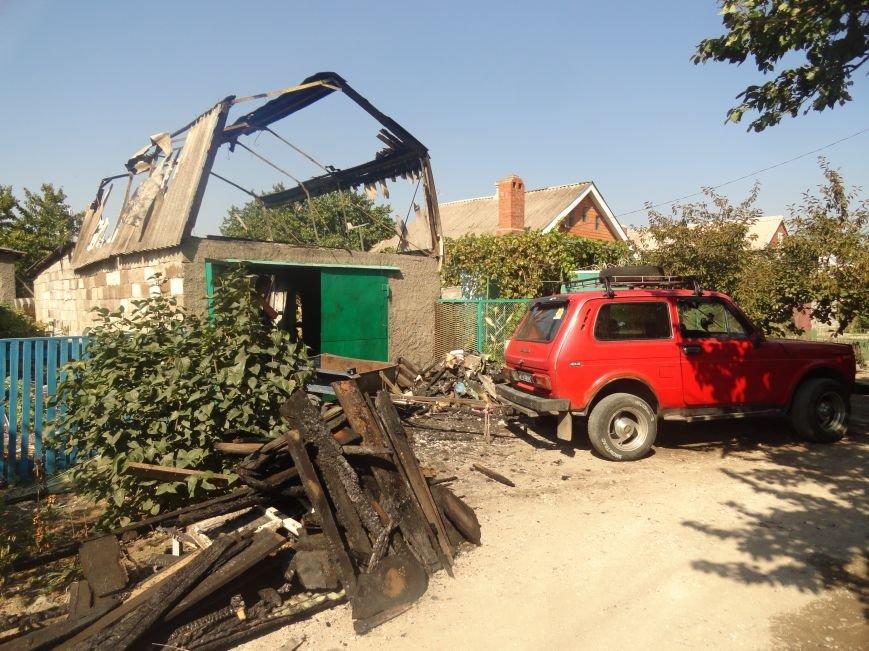 Пожар в Приморском районе мариупольцы связали с ночной стрельбой (ФОТО+ВИДЕО), фото-3