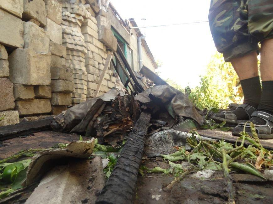 Пожар в Приморском районе мариупольцы связали с ночной стрельбой (ФОТО+ВИДЕО), фото-7