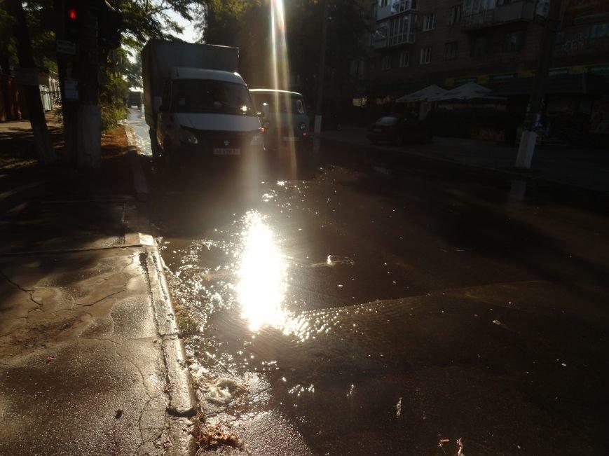 В Мариуполе тонет ул. Итальянская (ФОТО), фото-1