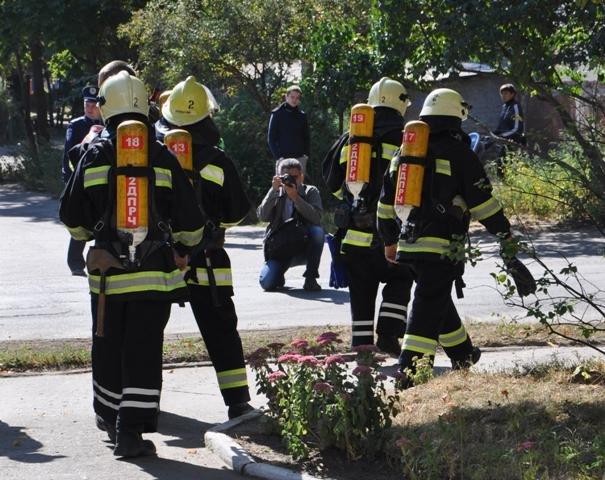 Экстренные службы в Сумах провели учения: эвакуировали людей после взрыва (ФОТО), фото-6