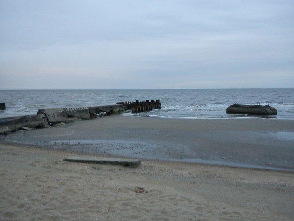 В Мариуполе море отошло от берегов (ФОТОФАКТ), фото-7