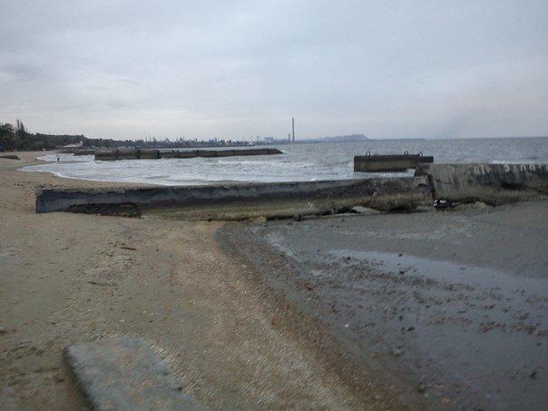 В Мариуполе море отошло от берегов (ФОТОФАКТ), фото-9