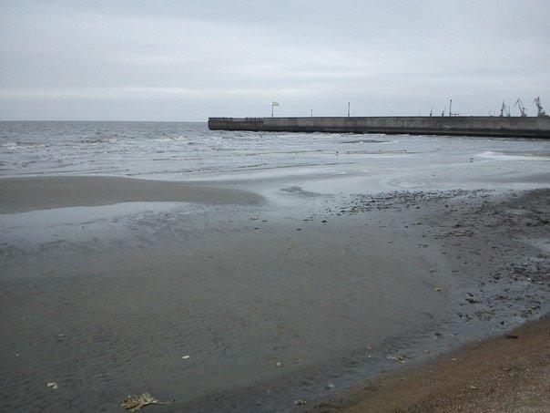 В Мариуполе море отошло от берегов (ФОТОФАКТ), фото-4