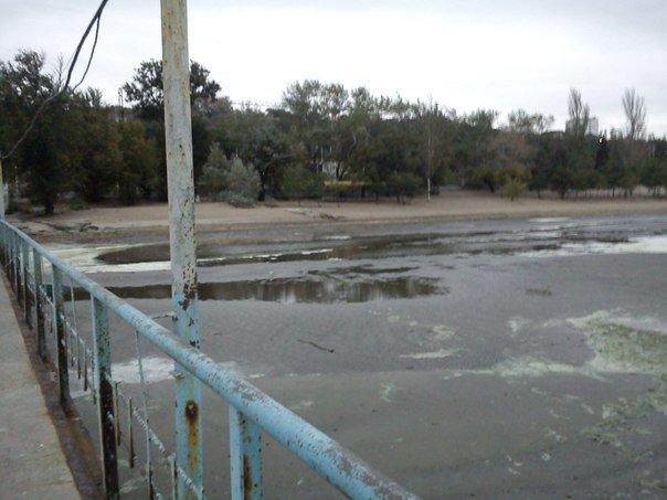 В Мариуполе море отошло от берегов (ФОТОФАКТ), фото-6