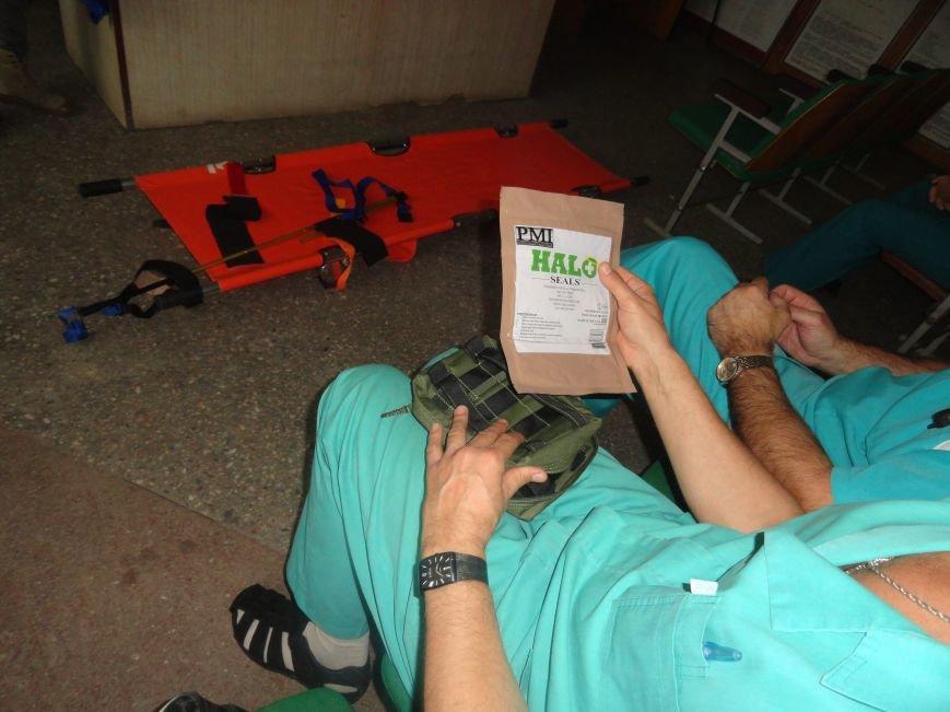 Американские инструкторы знакомили мариупольских врачей с новейшими стандартами работы бойцов-спасателей США и НАТО (ФОТОРЕПОРТАЖ), фото-4