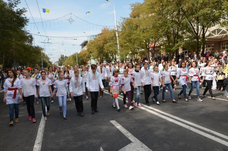 В Мариуполе прошел парад вышиванок (ФОТОРЕПОРТАЖ+ВИДЕО), фото-11