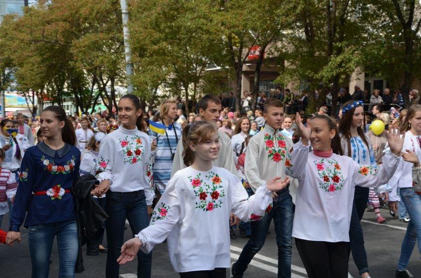 В Мариуполе прошел парад вышиванок (ФОТОРЕПОРТАЖ+ВИДЕО), фото-14