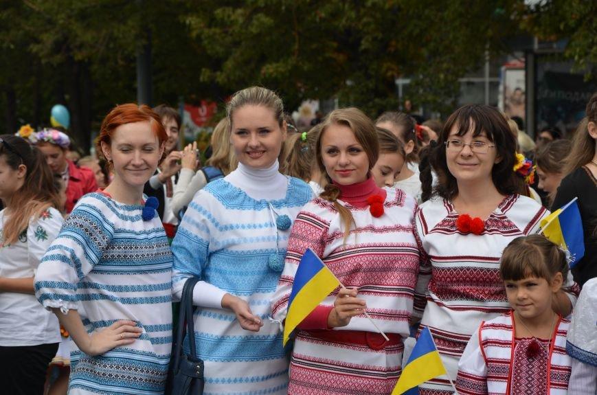 В Мариуполе прошел парад вышиванок (ФОТОРЕПОРТАЖ+ВИДЕО), фото-1