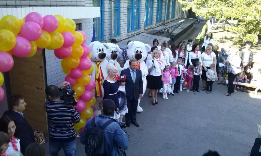 В Днепровском районе Днепродзержинска открылось дошкольное учебное заведение №44 «Аист», фото-10
