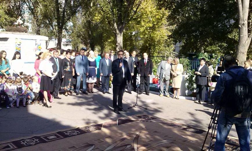 В Днепровском районе Днепродзержинска открылось дошкольное учебное заведение №44 «Аист», фото-4