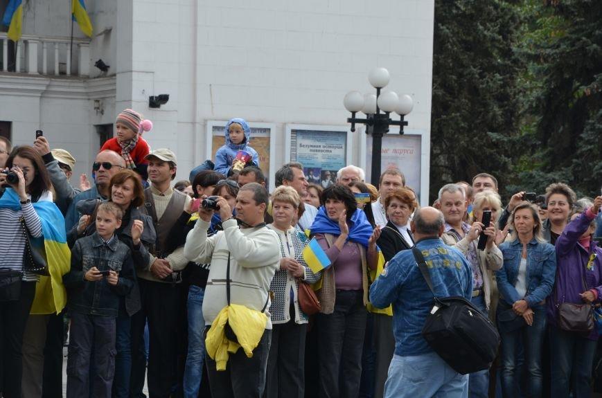 В Мариуполе прошел мини-парад военной техники (ФОТОРЕПОРТАЖ+ВИДЕО), фото-14