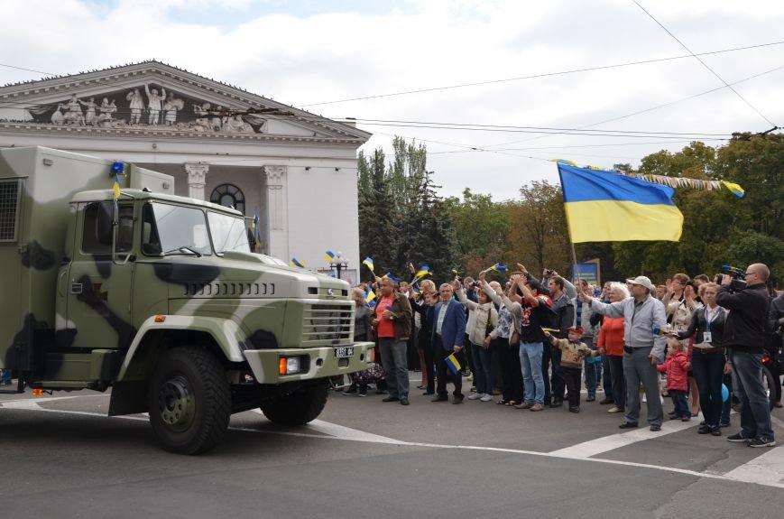 В Мариуполе прошел мини-парад военной техники (ФОТОРЕПОРТАЖ+ВИДЕО), фото-18