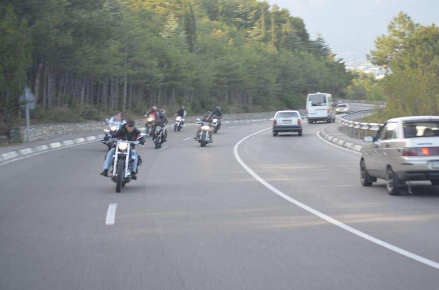 В Ялте провели День памяти погибших мотоциклистов, фото-4