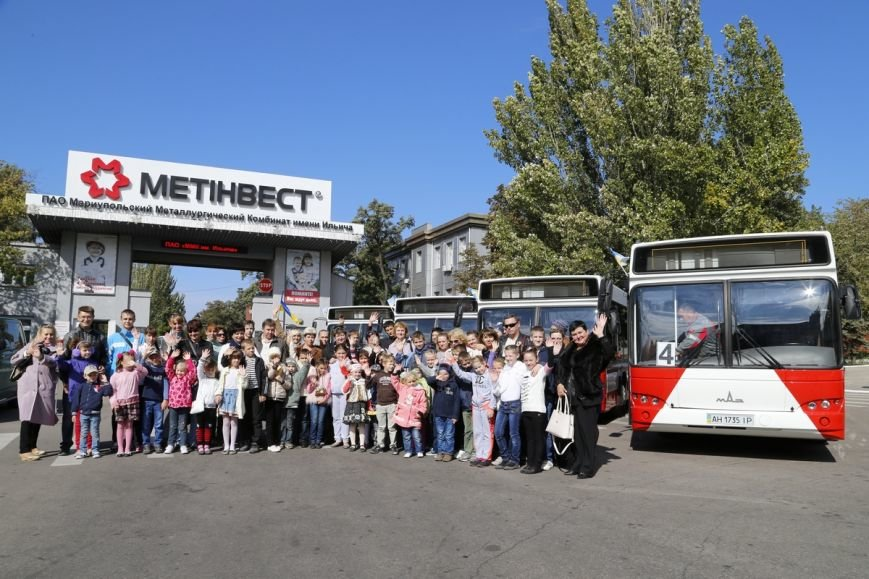 Метинвест подарил Мариуполю восемь пассажирских автобусов, фото-2