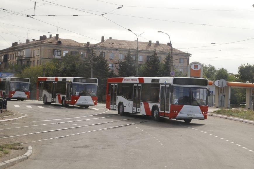 Метинвест подарил Мариуполю восемь пассажирских автобусов, фото-1