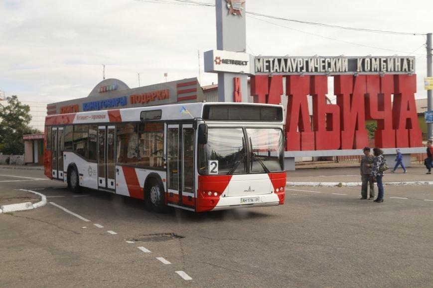 Метинвест подарил Мариуполю восемь пассажирских автобусов, фото-3