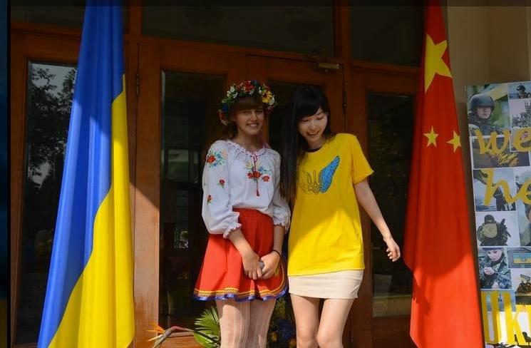 Фотофакт: в Китае прошла акция в поддержку Украины., фото-3