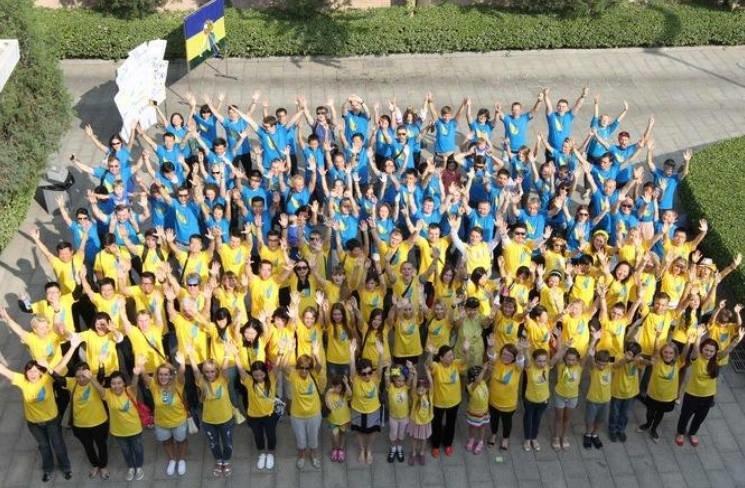 Фотофакт: в Китае прошла акция в поддержку Украины., фото-2