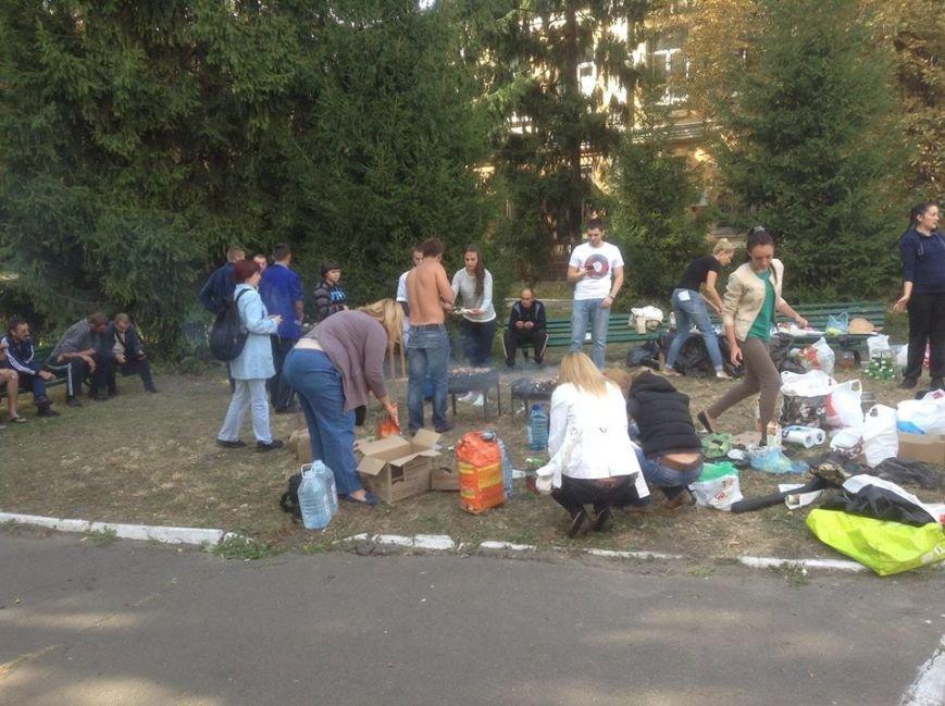 В Киеве раненым бойцам АТО организовали пикник (ФОТО), фото-1