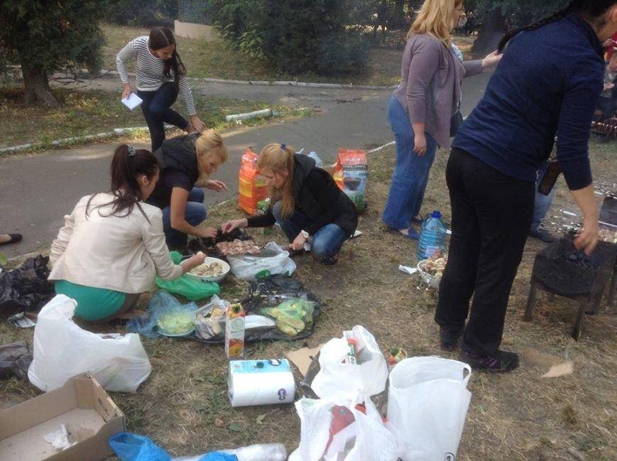 В Киеве раненым бойцам АТО организовали пикник (ФОТО), фото-2