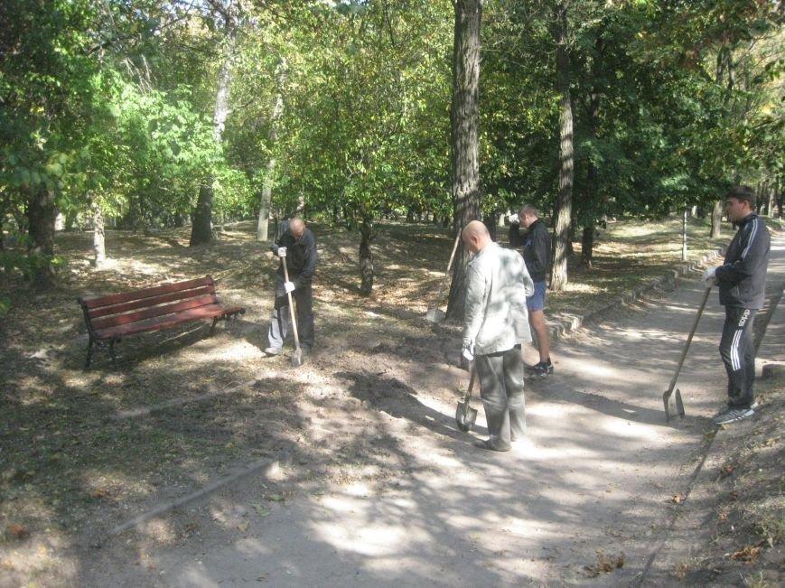 На Болдиной горе в Чернигове появились лавочки, фото-1