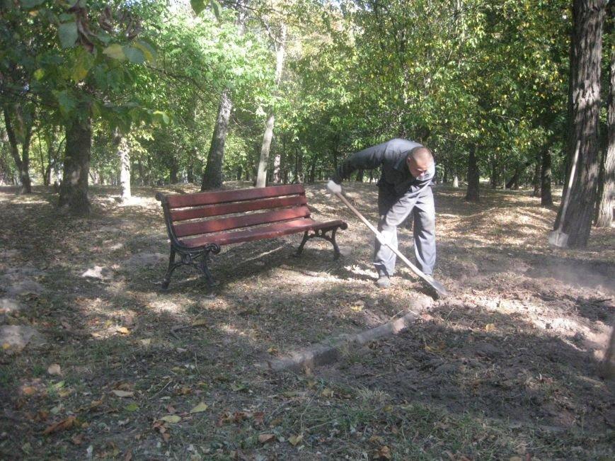 На Болдиной горе в Чернигове появились лавочки, фото-2