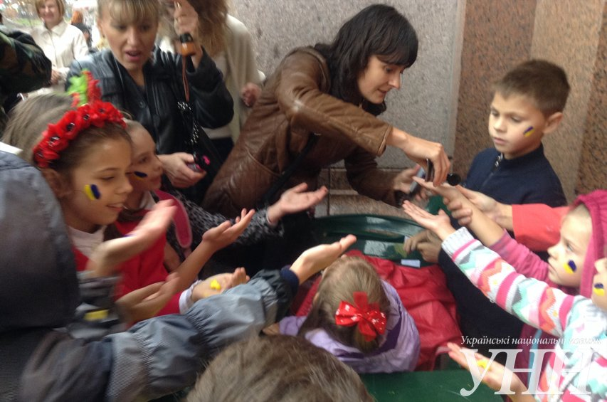 Нет войне! В Киеве прошла акция, посвященная Дню Мира (ФОТО), фото-11