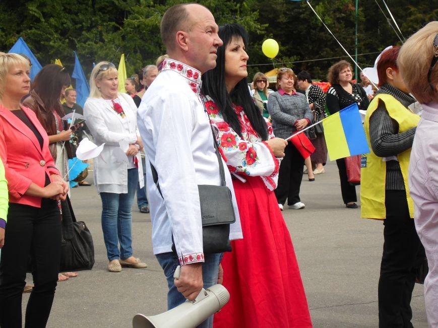 Марш мира в Днепропетровске. Как это было (ВИДЕО, ФОТО), фото-52