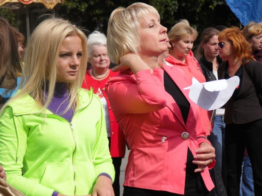 Марш мира в Днепропетровске. Как это было (ВИДЕО, ФОТО), фото-25