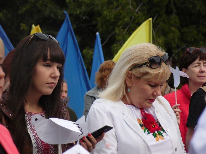 Марш мира в Днепропетровске. Как это было (ВИДЕО, ФОТО), фото-54