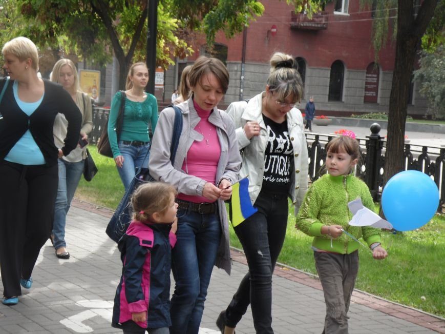 Марш мира в Днепропетровске. Как это было (ВИДЕО, ФОТО), фото-1