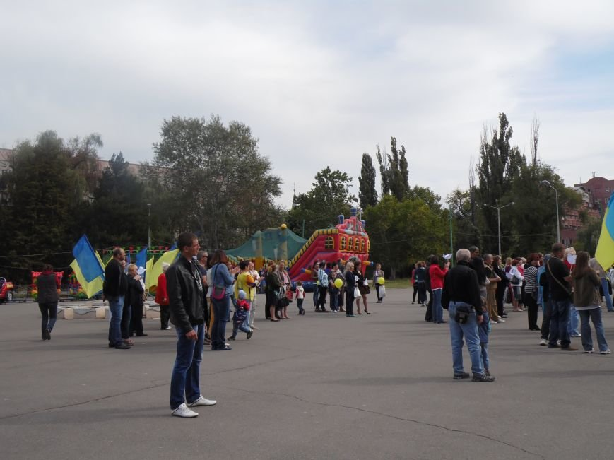 Марш мира в Днепропетровске. Как это было (ВИДЕО, ФОТО), фото-57