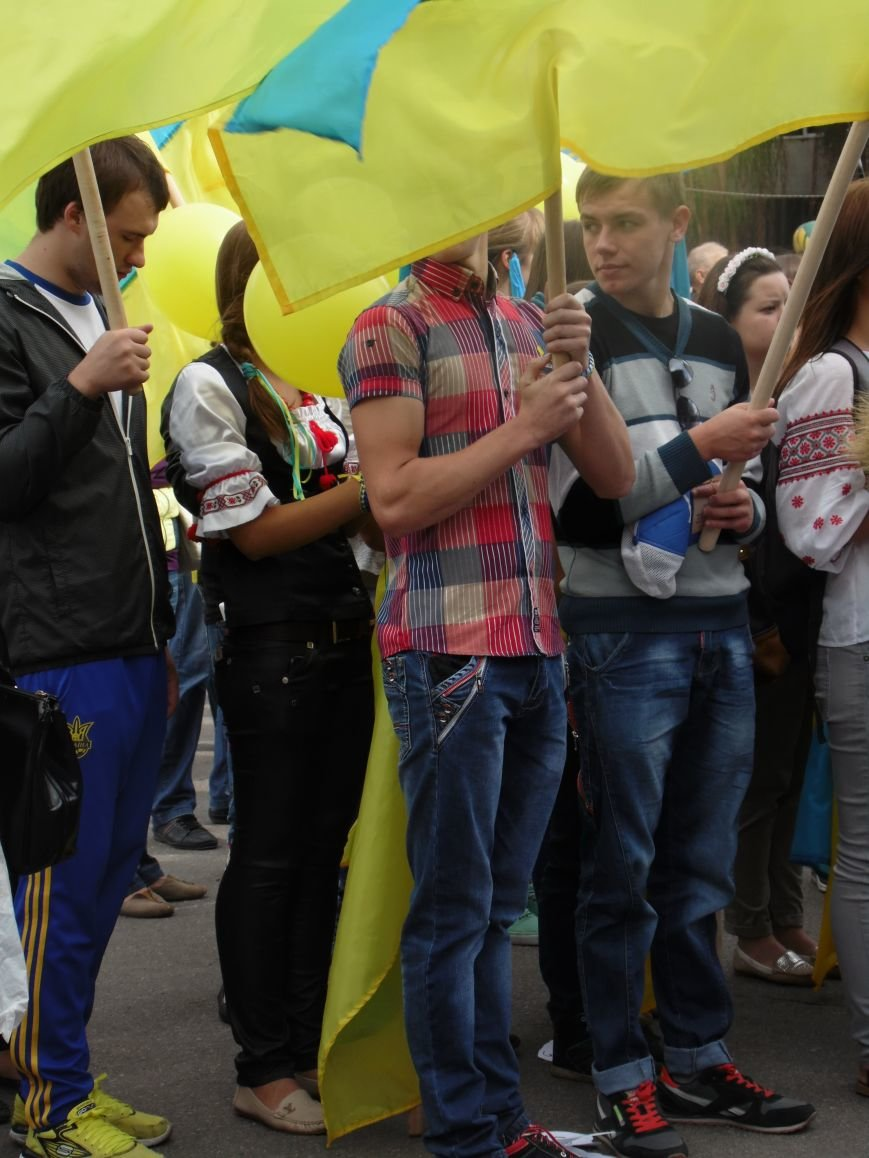 Марш мира в Днепропетровске. Как это было (ВИДЕО, ФОТО), фото-29