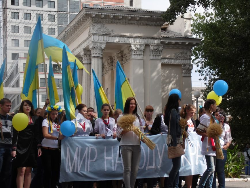 Марш мира в Днепропетровске. Как это было (ВИДЕО, ФОТО), фото-15