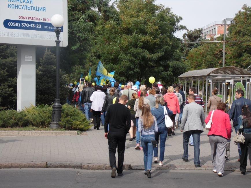 Марш мира в Днепропетровске. Как это было (ВИДЕО, ФОТО), фото-2