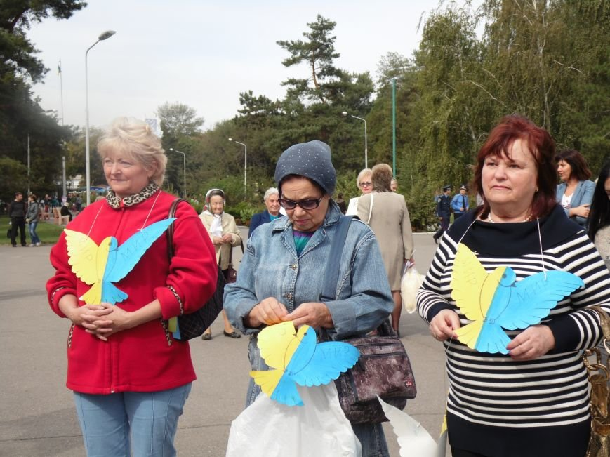 Марш мира в Днепропетровске. Как это было (ВИДЕО, ФОТО), фото-46