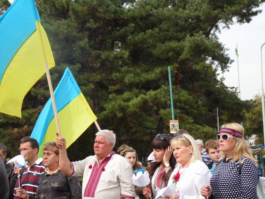 Марш мира в Днепропетровске. Как это было (ВИДЕО, ФОТО), фото-45