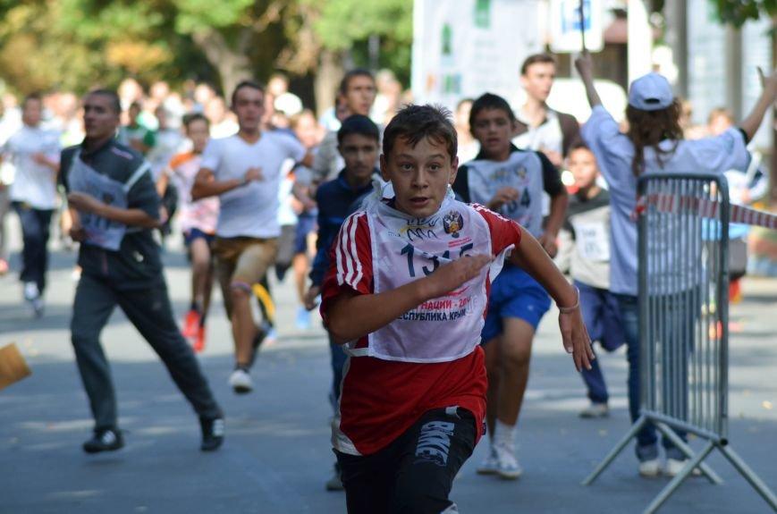 ФОТОРЕПОРТАЖ: В Симферополе более 2 тысяч бегунов поучаствовали в «Кроссе наций», фото-12