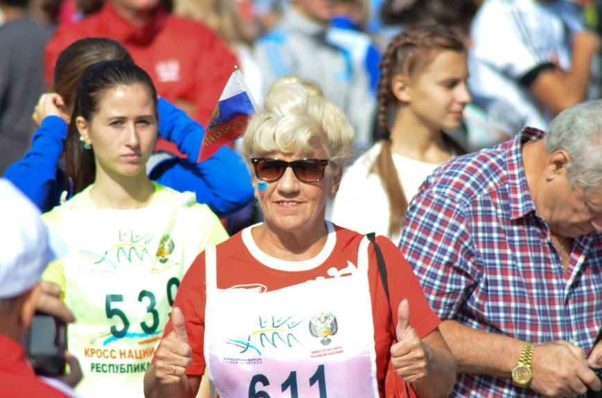 ФОТОРЕПОРТАЖ: В Симферополе более 2 тысяч бегунов поучаствовали в «Кроссе наций», фото-8